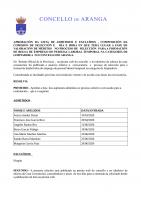 APROBACIÓN DA LISTA DE ADMITIDOS E EXCLUÍDOS , COMPOSICIÓN DA COMISIÓN DE SELECCIÓN E   DÍA E HORA EN QUE TERÁ LUGAR A FASE DE VALORACIÓN DE MÉRITOS   NO PROCESO DE  SELECCIÓN  PARA A FORMACIÓN DE BOLSA DE EMPREGO DE LIMPADOR/A