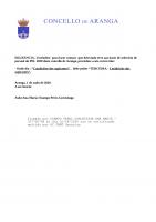 CONVOCATORIA DE SELECCION DE PERSOAL LABORAL TEMPORAL CATRO PEÓNS PEL DEPUTACIÓN 2020